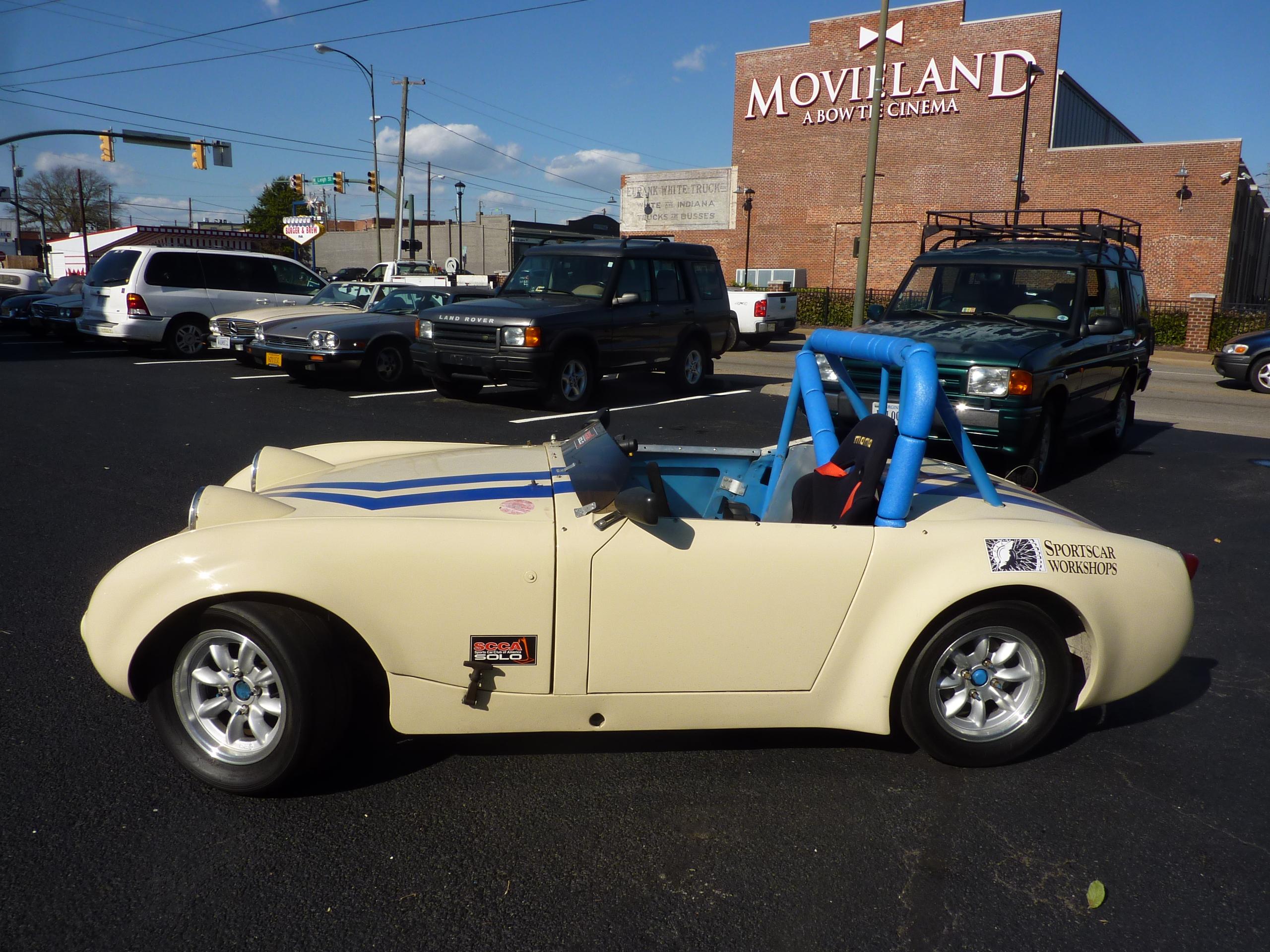 Bugeye Sprite Racer • Sportscar Workshops